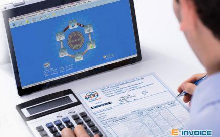 Giao diện phần mềm hóa đơn điện tử